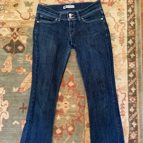 Levi's Denim - LEVI's Too Super Low blue jeans